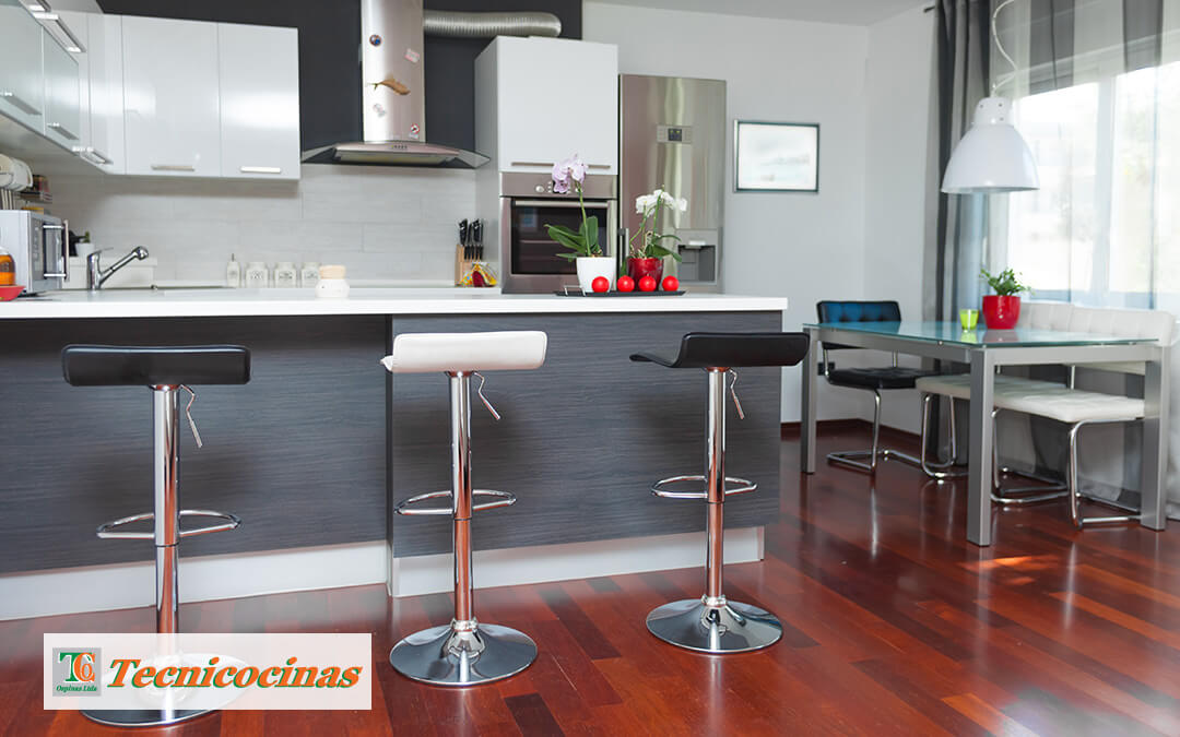 5 colores fantásticos para tu cocina integral de línea minimalista