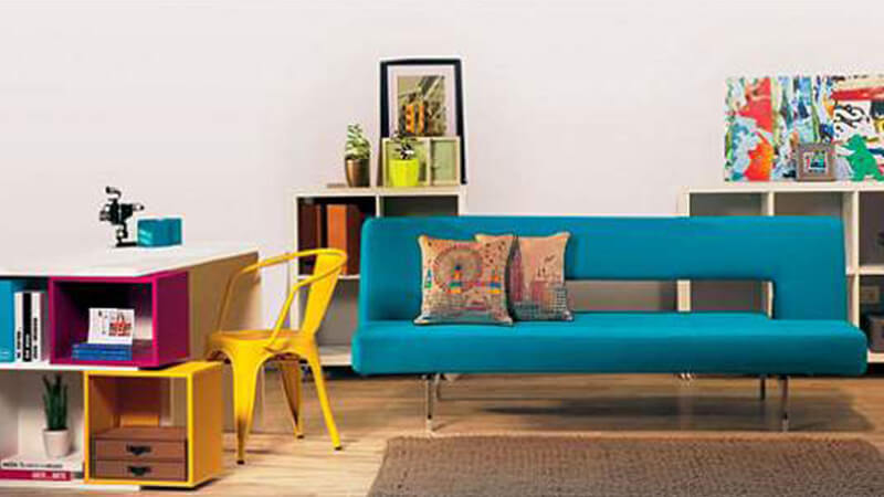 Decoración para el hogar en modo tricolor