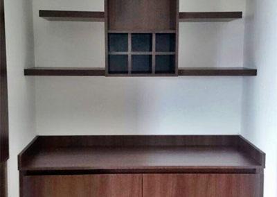 Mueble personalizado complemento de centro de televisión