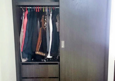Closet completo en madecor