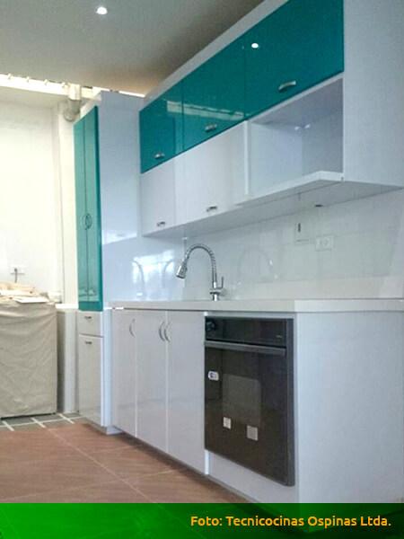 Muebles de cocina en poliuretano bogota for Cocinas terminadas