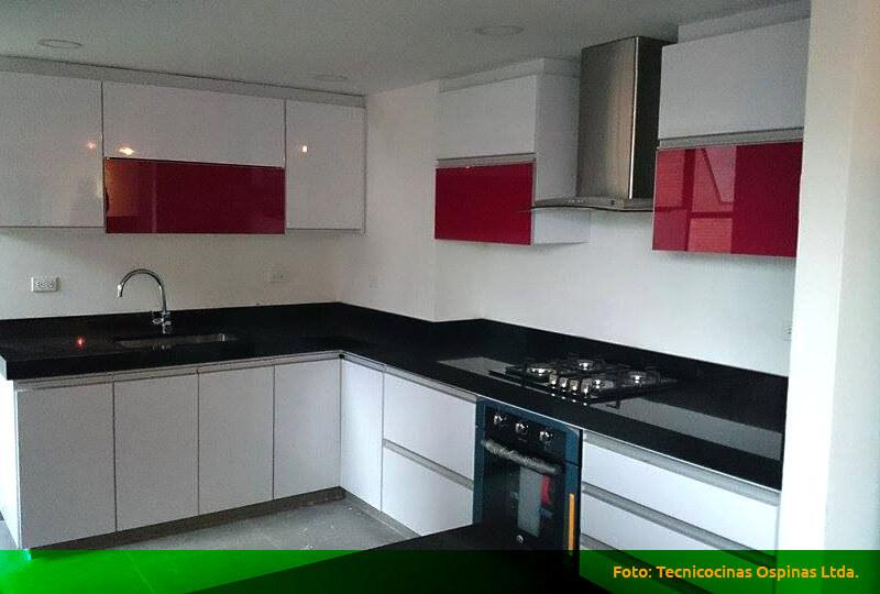 Muebles de formica para cocina muebles de cocina con isla - Cocina de formica ...
