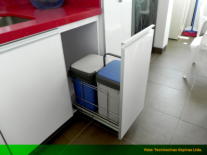 Herrajes que ofrecen grandes soluciones a su cocina integral for Herrajes para cocina