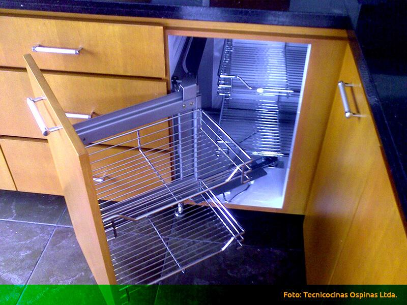 esquinas m gicas espacios optimizados con gran dise o On herrajes para cocina bogota