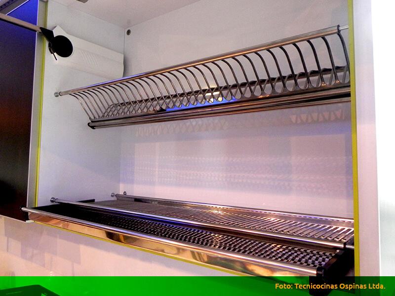 Herrajes que ofrecen grandes soluciones a su cocina integral for Como instalar una cocina integral pdf