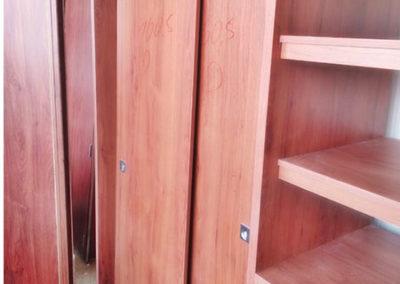 Closet de madecor en planta de producción
