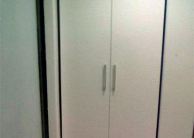Closet en madecor - vista externa