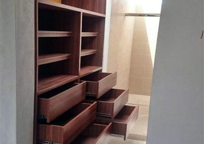 Closet en madecor diseño personalizado