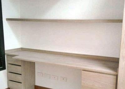 Mueble tipo estudio en madecor