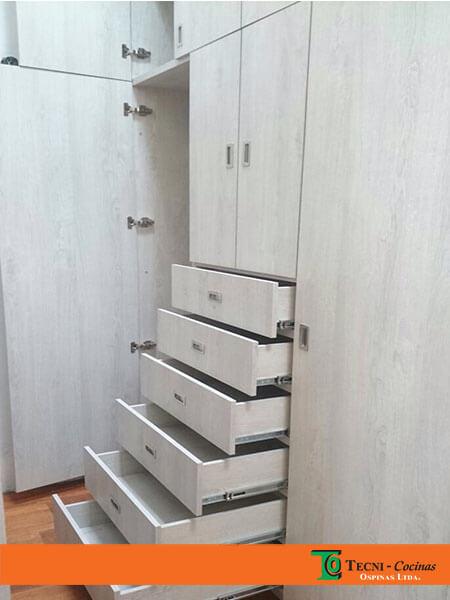 Originalidad, diseño y calidad de los closets en madera