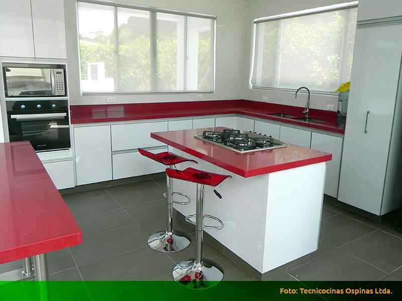 Cocina integral aluminio for Cocinas integrales en aluminio