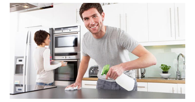 C mo tener la cocina limpia y brillante tecni cocinas ospinas ltda - Como limpiar baldosas cocina ...
