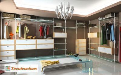 Ideas para diseño de closets ergonómicos, funcionales y modernos